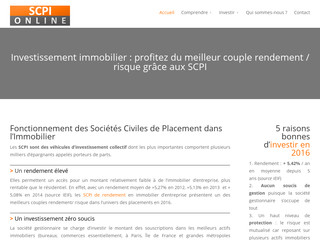 "Explications des SCPI : ""Société Civile de Placement Immobilier"""